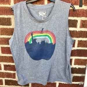 NY Pride Muscle Tee Shirt